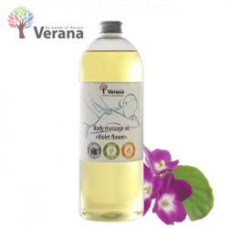 Verana Violet Vijolīte masāžas eļļa ķermenim 1L