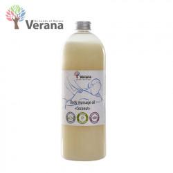 Verana Coconut Kokosrieksts ķermeņa masāžas eļļa 1L