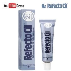 RefectoCil 2.1 Deep Blue dziļi zila krāsa skropstām-uzacīm 15ml