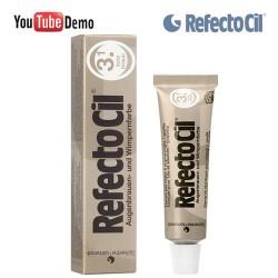 RefectoCil 3.1 Light Brown gaiši brūna krāsa skropstām-uzacīm 15ml