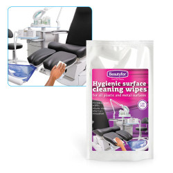 Влажные чистящие Beautyfor салфетки для поверхностей 100 шт. (сменная упаковка)