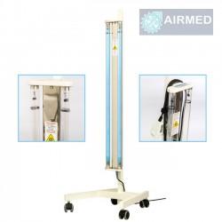 Baktericīdā kvarca lampa Airmed Bactostop 110W ar statīvu un plēvi