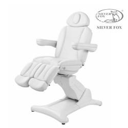 Pedikīra krēsls Silver Fox 2246А balts