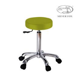 Silver Fox plakans apaļš meistara krēsls 1023A laims