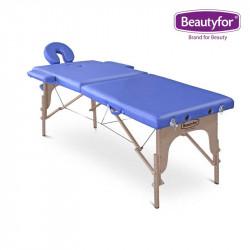 Portatīvais koka masāžas galds FMA201A