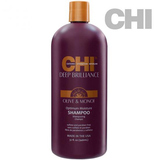 CHI Deep Brilliance Optimum Moisture šampūns 946ml