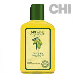 CHI Olive Organics Olive & Silk Hair and Body Oil eļļa 251ml