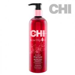 CHI Rose Hip Oil Protecting Shampoo šampūns 340ml
