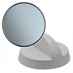 Balts meistara friziera spogulis ar rokturi 24cm