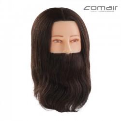 Manekena galva frizieriem ar bārdu