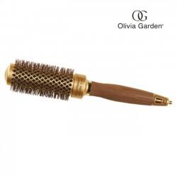 Olivia Garden nano thermic keramiskā matu ķemme 34mm