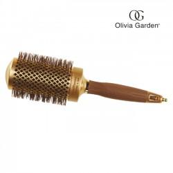 Olivia Garden nano thermic keramiskā matu ķemme 54mm