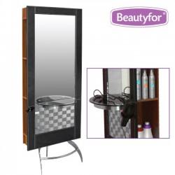 Spogulis frizētavai 132B brūns