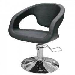 Hidraulisks klienta krēsls 332 melns