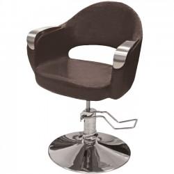 Hidraulisks klienta krēsls frizētavai 356-1 brūns
