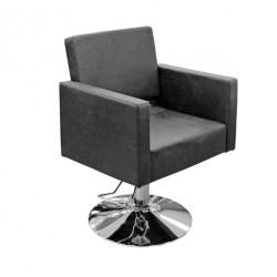Hidraulisks klienta krēsls frizētavai Y195 matēts melns