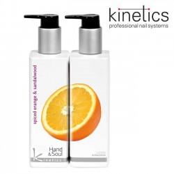 Kinetics Hand&Soul apelsīns un sandalkoks losjons 250ml
