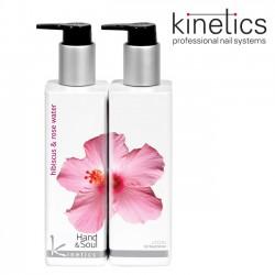 Kinetics Hand&Soul losjons Hibiskusroze un Rožūdens 250 ml