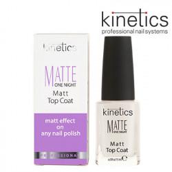 Kinetics Matte One Night Top Coat 15ml