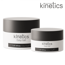 Kinetics Easy Gel Soft White 15ml balta
