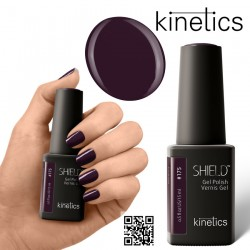 Kinetics Shield Gel Polish 11ml Blackout #175