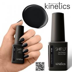 Kinetics Shield Gel Polish 11ml Jet Black #188