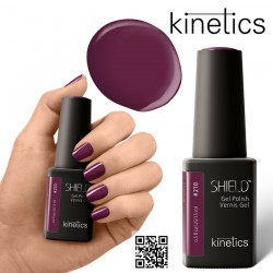 Kinetics Shield Gel Polish 11ml Mulberry #210
