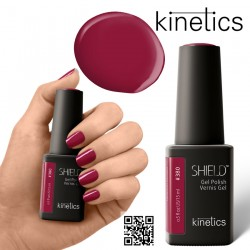 Kinetics Shield Gel Polish 11ml Hedonist RED #380