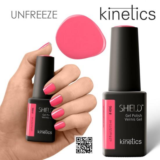 Kinetics Shield Gel Polish #496 Recharged Blush 15ml