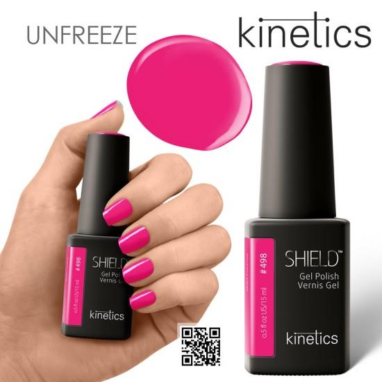 Kinetics Shield Gel Polish #498 Wild Fuchsia 15ml