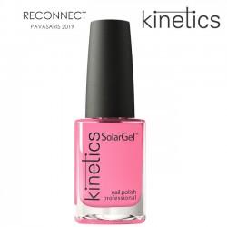 Nagu laka Kinetics SolarGel 15ml Unfollow Pink  #423