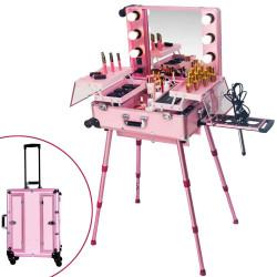 Grima koferis KC-210, rozā krāsa