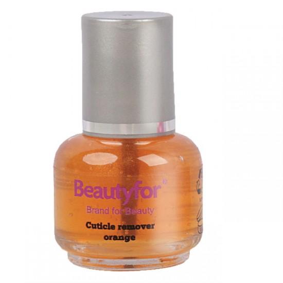 Beautyfor kutikulas noņēmējs 15ml (oranžā krāsā)
