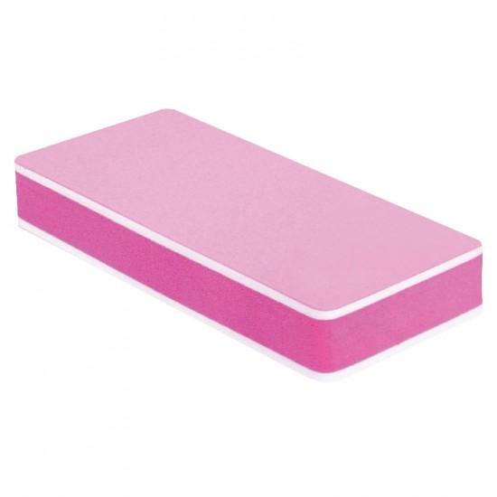 Kompakts pulētājs Sandwich 400/3000 rozā krāsa