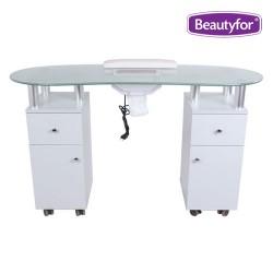 Manikīra galds Beautyfor ar putekļu nosūcēju