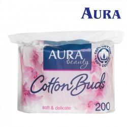 Aura Beauty vates kociņi maisiņā 200gab.