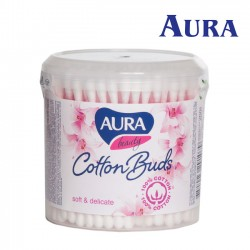 Aura Beauty vates kociņi karbiņā 200gab.