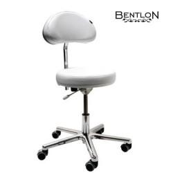 """Meistara krēsls """"Bentlon Silver Comfort"""", balts"""