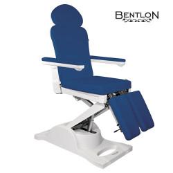 "Pedikīra krēsls ""Bentlon Podochair Bronze"", zils"
