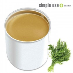 Simple Use depilācijas vasks ar fenheļa ēterisko eļļu 800ml