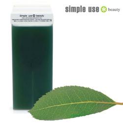 Zaļš depilācijas vasks Simple Use 100 ml