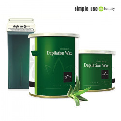 Simple Use depilācijas vasks ar alveju 100ml