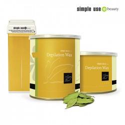 Simple Use depilācijas vasks ar litceju 100ml