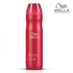 Wella Brilliance Thick šampūns cietiem matiem 250ml