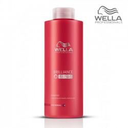 Wella Brilliance Fine šampūns normāliem matiem 1000ml