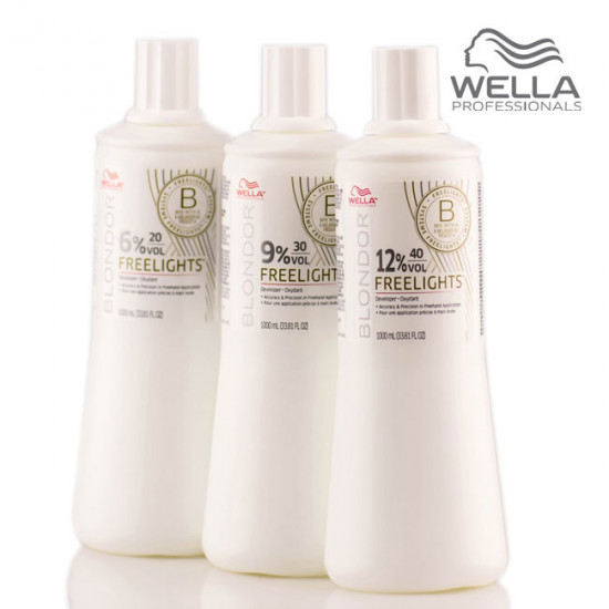 Wella Blondor Freelights Oxydant 6% 1L