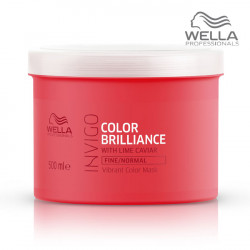 Wella Invigo Color Brilliance Mask Fine maska krāsotiem matiem 500ml