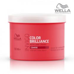 Wella Invigo Color Brilliance Mask Coarse maska krāsotiem matiem 500ml