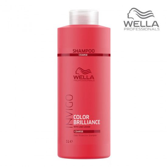 Wella Invigo Color Brilliance Shampoo Coarse Šampūns krāsotiem matiem 1000ml