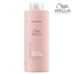Wella Invigo Blonde Recharge Šampūns 1000ml